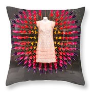 Lv Dress And Arrows 01 Throw Pillow