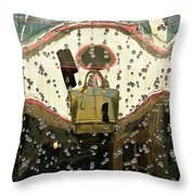Lv Gold Bag 02 Throw Pillow