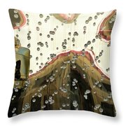 Lv Gold Bag 03 Throw Pillow