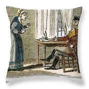 Lydia Darrah, 1777 Throw Pillow