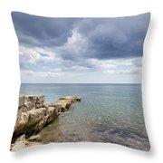 Lyme Bay Throw Pillow