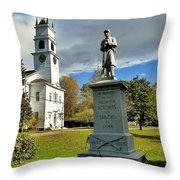 Lyme New Hampshire Throw Pillow