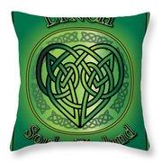 Lynch Soul Of Ireland Throw Pillow