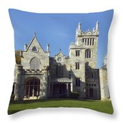 Lyndhurst Estate - Tarrytown New York Throw Pillow