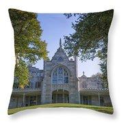 Lyndhurst Mansion Throw Pillow