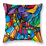 Lyra Throw Pillow by Teal Eye  Print Store