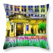 Lyric Opera House Of Chicago Throw Pillow