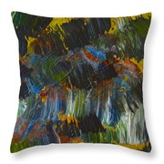 Intuitive Painting  609 Throw Pillow