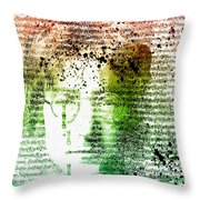 Lyrical Memories  Throw Pillow