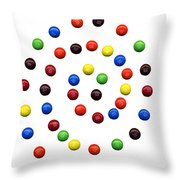 M And M 1 Throw Pillow