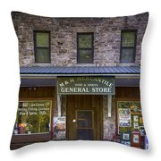 M And M Mercantile Throw Pillow