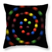 M And Ms 4 Throw Pillow