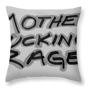 M F R B And G Throw Pillow