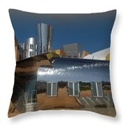 M I T Reflection And Fisheye Throw Pillow