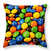 M N Ms Throw Pillow
