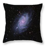 M33--the Triangulum Galaxy Throw Pillow