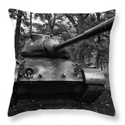 M47 Patton Tank Throw Pillow