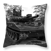 M551a1 Sheridan Tank Throw Pillow