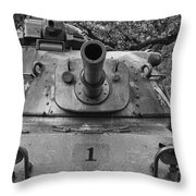 M60 Patton Tank Turret Throw Pillow