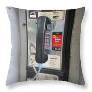 Ma Bell - Telephone Throw Pillow