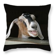 Maa-aaa Throw Pillow