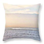 Maalaea Morning Surf Throw Pillow