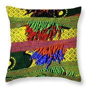 Maasai Beadwork Throw Pillow