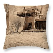 Mabel's Place In Platinum Throw Pillow