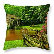 Mabrys Mill Throw Pillow