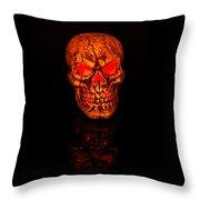 Macabre Throw Pillow