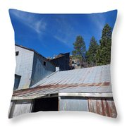 Micabrite Plant Throw Pillow