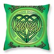 Macaleese Soul Of Ireland Throw Pillow