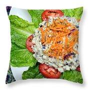 Macaroni Salad 1 Throw Pillow