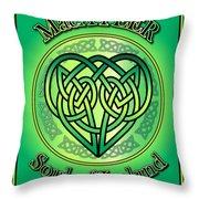 Macateer Soul Of Ireland Throw Pillow