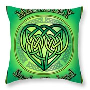 Macauley Soul Of Ireland Throw Pillow