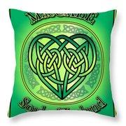 Maccabe Soul Of Ireland Throw Pillow