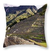 Macchu Picchu - Peru   Throw Pillow