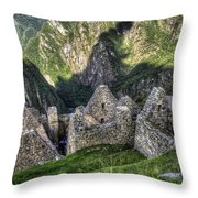 Macchu Picchu - Peru - South America Throw Pillow