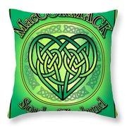 Maccormack Soul Of Ireland Throw Pillow