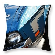 Mach 1 Ford Mustang 1971 Throw Pillow