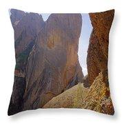 Machete Ridge From North Throw Pillow
