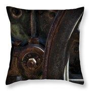 Mechanical Pareidolia  Throw Pillow