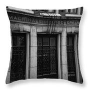 Machinale Houtebewerking Amsterdam Throw Pillow