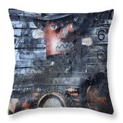 Machine In Me  Throw Pillow