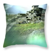 Machu Picchu Reflection Throw Pillow