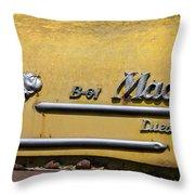 Mack B-61 Diesel Throw Pillow