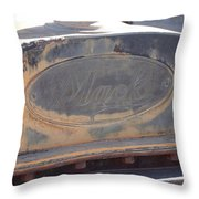 Mack Throw Pillow