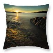 Mackenzie Point September Sunrize Throw Pillow