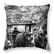Mackinac Travel Throw Pillow