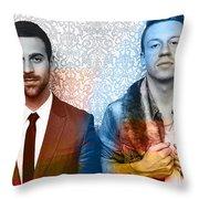 Macklemore Throw Pillow